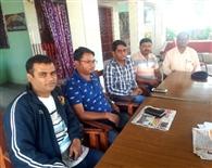बीडीओ ने क्षेत्र की गतिविधियों का लिया जायजा