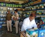 गगल पुलिस थाने से एक किलोमीटर दूर इच्छी में दुकान से छह लाख की बैटरियां ले गए चोर Kangra News
