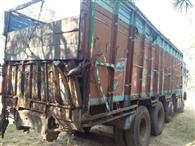 अवैध कोयला ले जा रहे ट्रक की पत्ती टूटी, पुलिस ने दर्ज की प्राथमिकी
