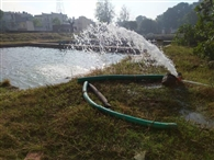 नॉन रिटर्निंग का वॉल फटा, चैंबर में भरा ट्रीटमेंट प्लांट का पानी