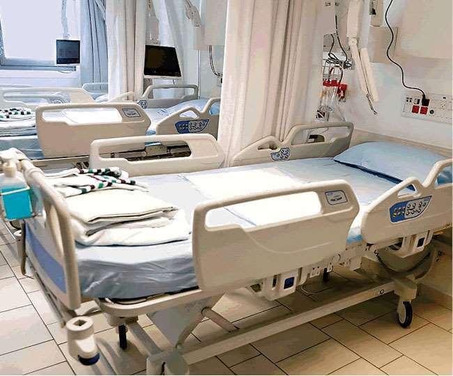 आठ अप्रैल को भर्ती होने वाले कोरोना मरीजों की संख्या 44 व नौ अप्रैल को 65 रही।