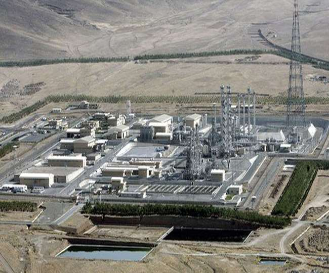 ईरान की न्यूक्लियर साइट पर आई समस्या