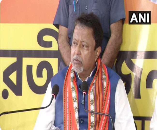 भाजपा के राष्ट्रीय उपाध्यक्ष मुकुल रॉय तृणमूल कांग्रेस कर सकते है ज्वाइन