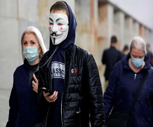 रूस में कोरोना से एक दिन में 396 लोगों की मौत
