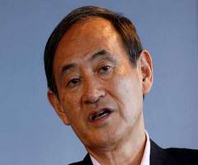 जापान के प्रधानमंत्री योशीहिदे सुगा। (फोटो- एएनआइ)