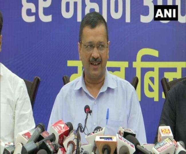 अरविंद केजरीवाल ने यहां की जनता को भी दिल्ली जैसी सुविधाएं देने की घोषणा की।