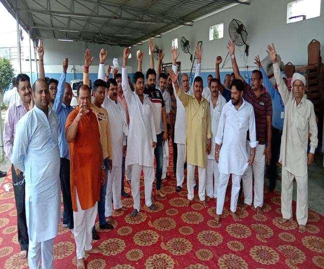 राष्ट्रवादी परिवर्तन मंच की अगुवाई में ग्रामीण केएमपी से सिंघु बार्डर, दिल्ली की ओर करेंगे मार्च