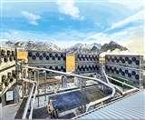 कार्बन डाई आक्साइड को भूमिगत करके दबा दिया जाता है।