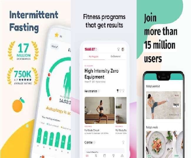 Fitness apps की प्रतिकात्मक फाइल फोटो यह है