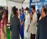 सिंधिया ने तेलंगाना में 'Medicine From the Sky' परियोजना शुरू की, ड्रोन से आवश्यक वस्तुओं को पहुंचाया जाएगा