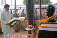 देश के लिए प्राण न्योछावर करने वालों को नहीं भुलाया जा सकता : गुप्ता