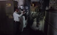 शार्ट-सर्किट से जला यूबीआइ का यूपीएस