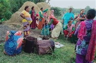 महिलाओं ने तोड़ी शराब की भट्टियां, लहन की नष्ट