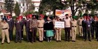 एनसीसी कैडेटों ने स्वच्छ भारत अभियान के तहत निकाली रैली