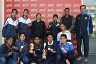आर्य गर्ल्स स्कूल की क्रिकेट टीम ने जीता रजत