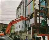 Hanytrap Case: फरार जीतू सोनी के अखबार की इमारत भी गिराई गई