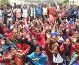 लोहिया संस्थान के हॉस्पिटल ब्लॉक में ओपीडी-ओटी में ताला, भटकते रहे मरीज Lucknow News