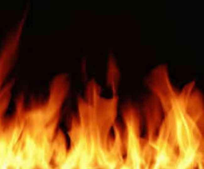 तमिलनाडु के विरुधनगर में आग लगने से मची अपरा-तफरी