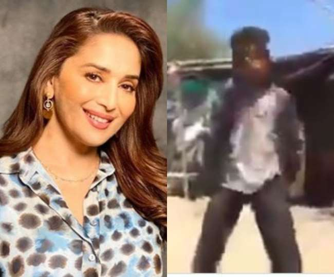 Madhuri Dixit Impress With Village Boy Dance And She Announced That To Bring Him On Dance Deewane 3 Show