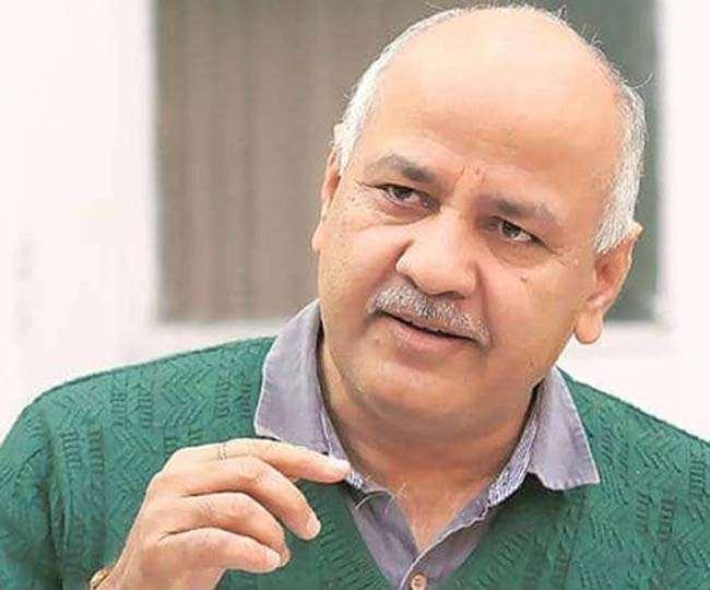 दिल्ली के उपमुख्यमंत्री मनीष सिसोदिया की फाइल फोटो।