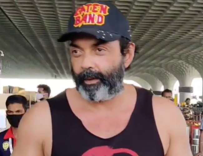 Bobby Deol Trolled For His Fashion sense. Photo- Video screenshot