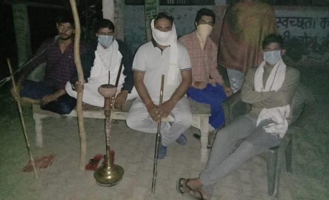 दहशत में डिडवाड़ी, ग्रामीणों ने कहा-हो सकता है धरने से आया हो कोरोना संक्रमण