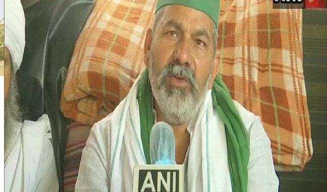 किसान नेता राकेश टिकैत ने किसानों के संसद कूच को लेकर दिया बयान।