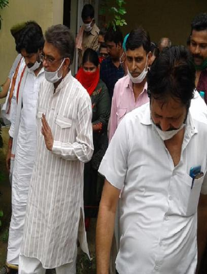 SP MLC Kamlesh Pathak appeared in Auraiya court in gangster case