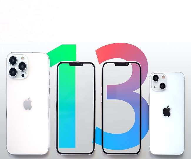 यह iphone 13 की प्रतीकात्मक फाइल फोटो है।