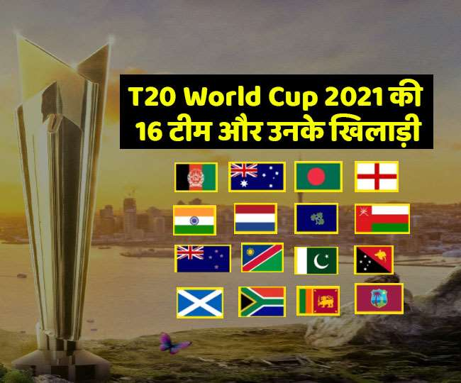 T20 World Cup 2021 All Teams and Players