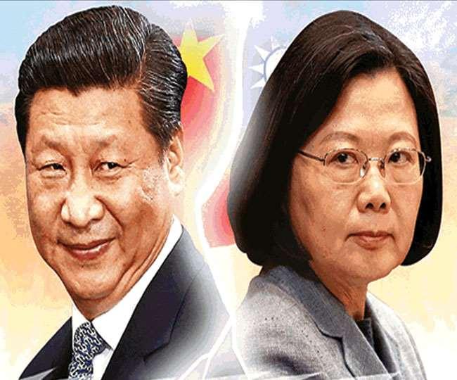 अमेरिका की मदद से ताइवान की सैन्य शक्ति मजबूत हुई है।