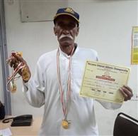 बीमारी से लड़कर तीन साल बाद मैदान पर लौटा बुजुर्ग दंपती, पांच गोल्ड मेडल जीते