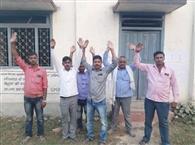 मतदाता सूची के प्रकाशन को लेकर ग्रामीणों ने जताया विरोध