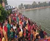 Karthik Purnima 2019: हर-हर गंगे के उद्घोष के साथ श्रद्धालुओं ने लगाई पुण्य की डुबकी Meerut News