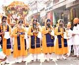 Guru Nanak Jayanti 550th Gurpurab 2019 : तस्वीरों में देखिए अलौकिक कीर्तन दरबार का स्वागत Panipat News