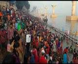 कार्तिक पूर्णिमाः आस्था की अंजुरी में लगी डुबकी, श्रद्धालुओं से भरे रहे पटना के गंगा घाट Patna News
