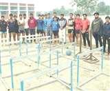 सरकार ने नहीं सुनी तो जज्बे और चंदे से 'चांद' सा बना दिया स्टेडियम Panipat News