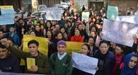 लद्दाखी छात्रों ने जनजातीय सूची में शामिल करने को भरी हुंकार