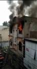अतिक्रमण ने रोकी फायरब्रिगेड की राह, दो घंटे में दुकान जली