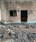 आग लगने से राख हो गया छप्परपोश घर