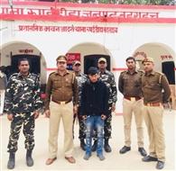 50 ग्राम स्मैक बरामद, नेपाली तस्कर गिरफ्तार