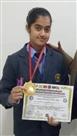 श्रीलंका की कराटे चैंपियन को अनन्या ने दी मात, जीता स्वर्ण पदक
