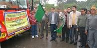 80 किसानों का दल को रवाना किया