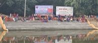 गुजरात के पूर्व मुख्य सचिव के गांव का तालाब देख गदगद हुए सीएम
