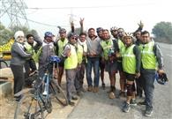 जागरूकता रैली का धारूहेड़ा में हुआ स्वागत