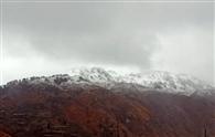 जौनसार-बावर में चोटियों पर बर्फबारी