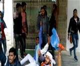 लविवि पर्चा लीक प्रकरण : न्यू से लेकर ओल्ड कैंपस में छात्रों का हंगामा, एनएसयूआइ समेत विभिन्न छात्र संगठनों ने किया प्रदर्शन