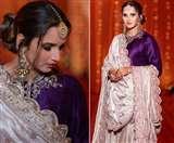 Sania Mirza's Stunning Sharara: बहन की शादी के फंक्शन में परफेक्ट ब्राइड्समेड लग रही थीं सानिया मिर्ज़ा