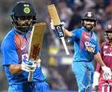 विराट कोहली व रोहित शर्मा के बीच T20I में चल रही है अनोखी जंग, कौन है बेस्ट