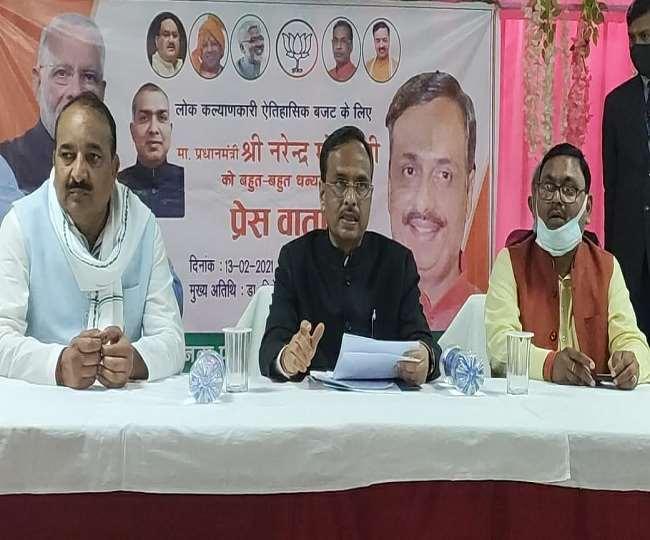 रायबरेली में बुद्धजीवी सम्मेलन में शामिल होने आए उप मुख्यमंत्री डॉ दिनेश शर्मा